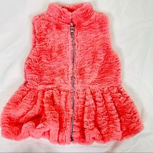 Little Lass Faux-Fur Vest